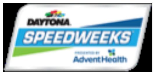 Speedweeks Presented By AdventHealth Logo