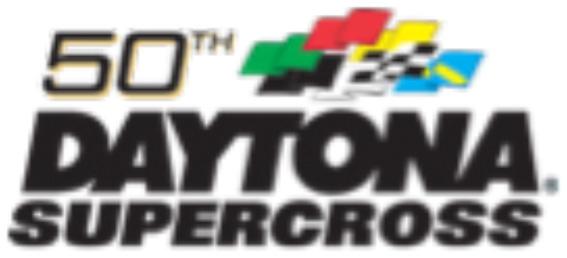 DAYTONA Supercross 50th Logo
